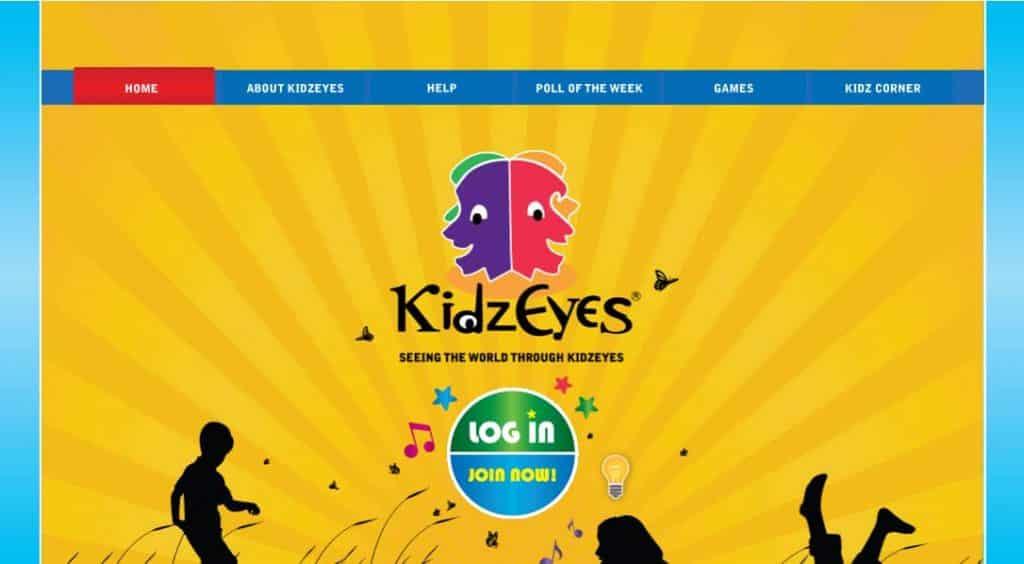KidzEyes- 18 Top Paying Survey Sites