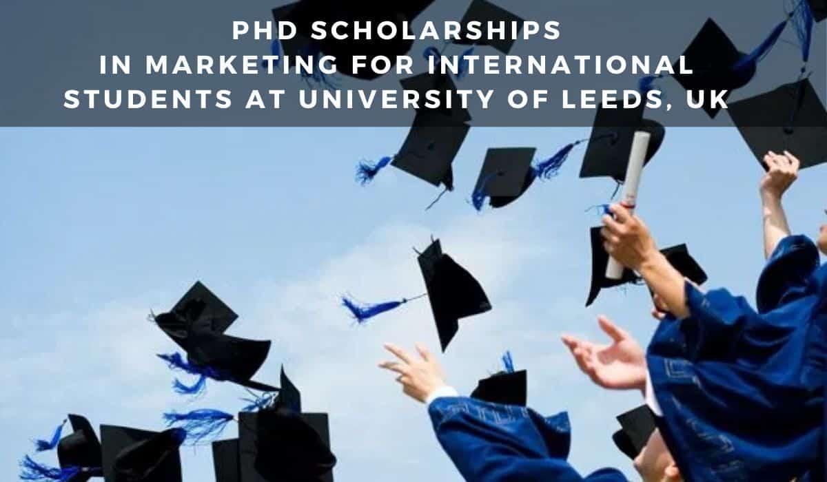 Leeds University Marketing Scholarship