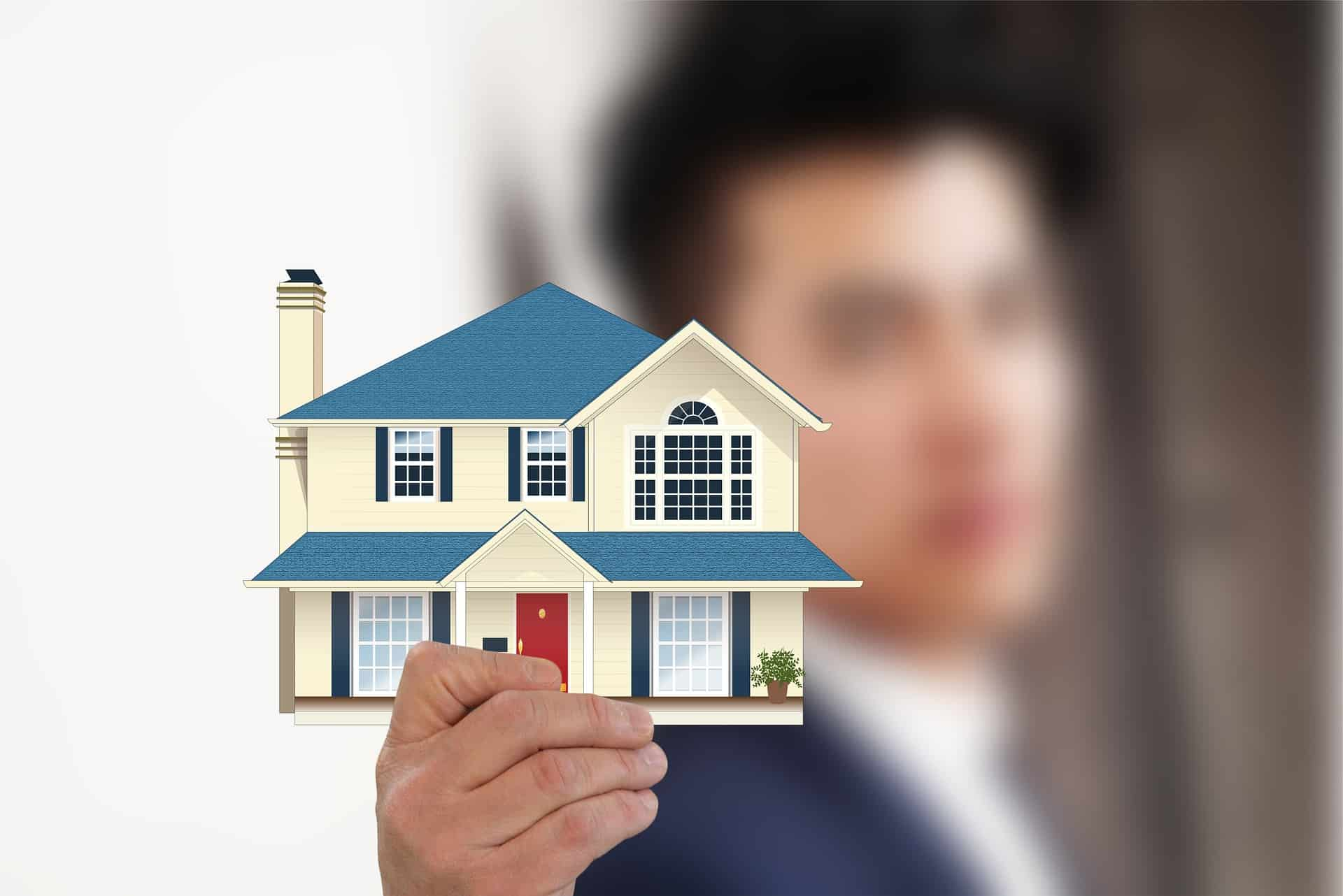 Real estate and broker