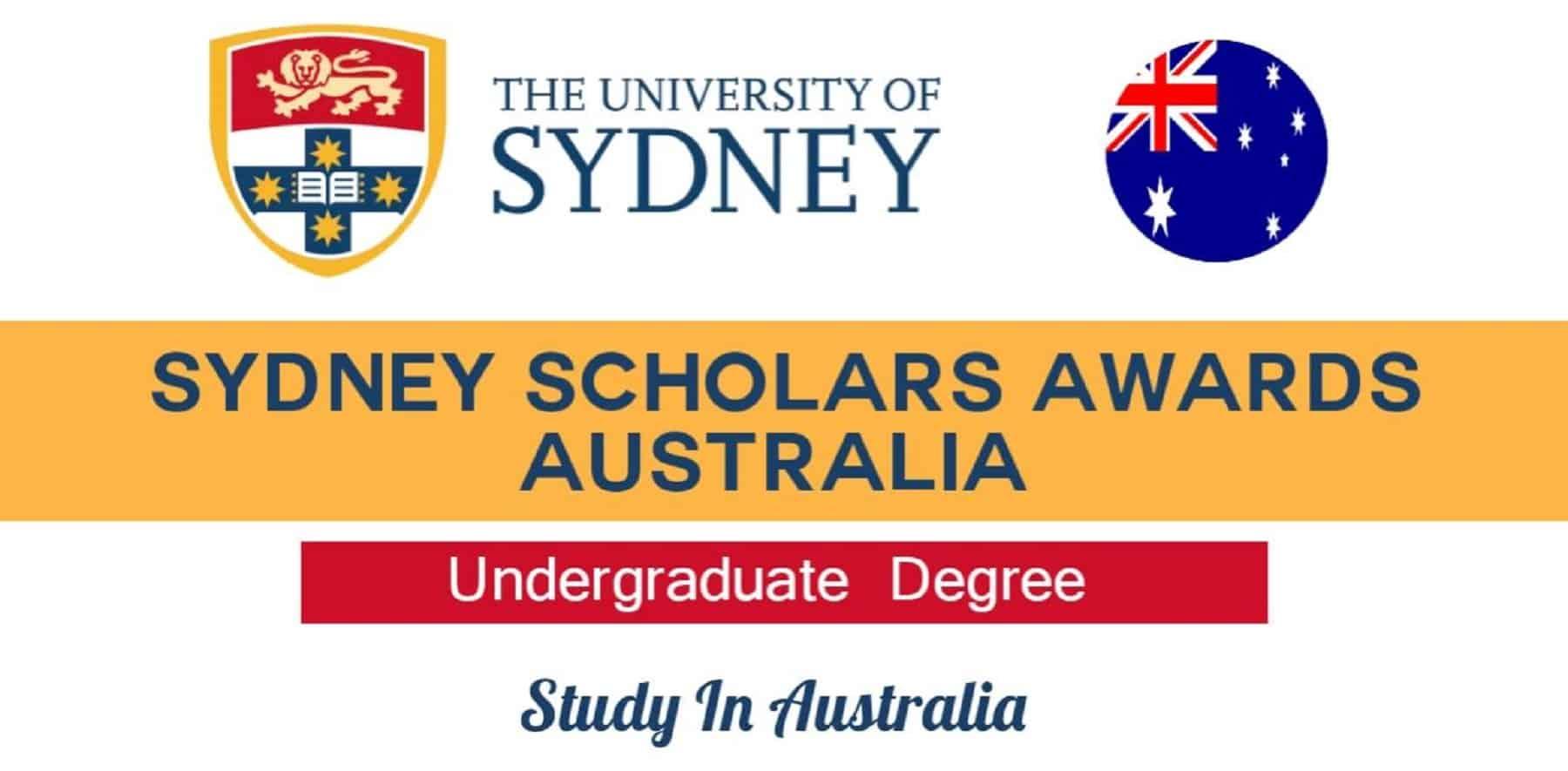 Sydney Scholars Awards