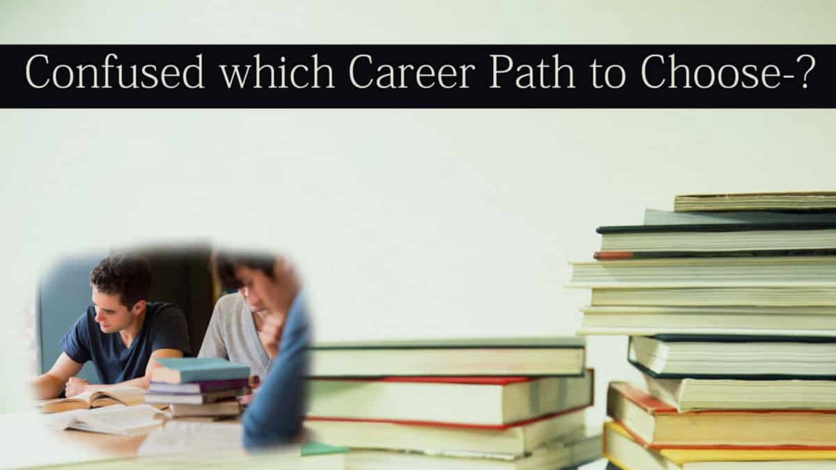 Confused on which career path to choose