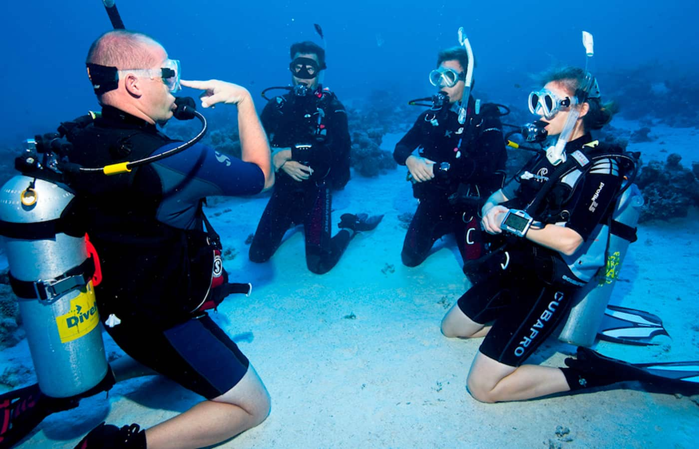 Scuba Diving Instructor-Get Paid Travel Opportunities