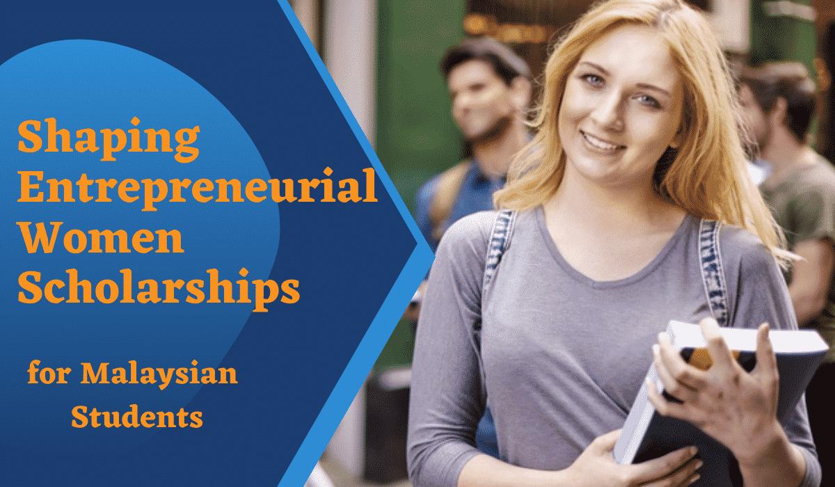 Shaping Entrepreneurial Women Scholarship